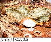Купить «Loaf of bread with a spoonful of salt», фото № 17230329, снято 23 мая 2018 г. (c) easy Fotostock / Фотобанк Лори