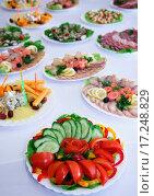 Купить «Vegetables for salad», фото № 17248829, снято 20 января 2020 г. (c) easy Fotostock / Фотобанк Лори