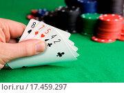 Купить «Poker Bluff», фото № 17459297, снято 7 октября 2019 г. (c) easy Fotostock / Фотобанк Лори