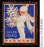 Купить «christmas postage stamp», фото № 17474593, снято 17 июля 2019 г. (c) easy Fotostock / Фотобанк Лори