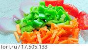 Купить «Green Vegetable slices», фото № 17505133, снято 4 июля 2020 г. (c) easy Fotostock / Фотобанк Лори