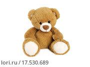 Купить «Brown teddy bear», фото № 17530689, снято 18 января 2018 г. (c) PantherMedia / Фотобанк Лори
