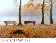 Купить «autumn at bear lake», фото № 17541697, снято 22 июля 2019 г. (c) PantherMedia / Фотобанк Лори