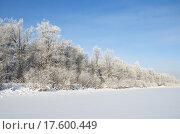 Купить «Зимний пейзаж», фото № 17600449, снято 22 января 2014 г. (c) Елена Коромыслова / Фотобанк Лори