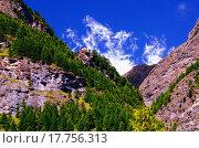 Швейцарские Альпы вблизи курортного городка Церматт, Швейцария (2014 год). Стоковое фото, фотограф Людмила Герасимова / Фотобанк Лори