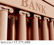 Купить «Bank», фото № 17771049, снято 10 декабря 2019 г. (c) easy Fotostock / Фотобанк Лори