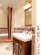 Купить «interior of bathroom», фото № 17800441, снято 21 февраля 2019 г. (c) easy Fotostock / Фотобанк Лори