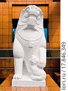 Купить «Lion Sculpture», фото № 17846349, снято 18 января 2019 г. (c) easy Fotostock / Фотобанк Лори