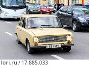 Купить «VAZ 2101 Zhiguli», фото № 17885033, снято 2 июня 2013 г. (c) Art Konovalov / Фотобанк Лори