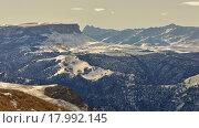 Купить «Зима в горах Кавказа», фото № 17992145, снято 20 декабря 2015 г. (c) александр жарников / Фотобанк Лори