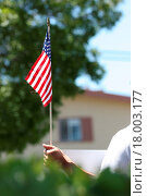 Купить «American Flag», фото № 18003177, снято 19 августа 2018 г. (c) easy Fotostock / Фотобанк Лори