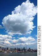 Купить «New York City Skyline», фото № 18023585, снято 20 января 2020 г. (c) easy Fotostock / Фотобанк Лори
