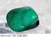 Aventurine laid on druze of quartz. Стоковое фото, фотограф Martin Novak / easy Fotostock / Фотобанк Лори
