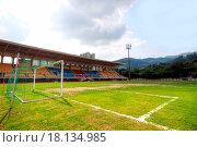 Купить «Soccer stadium», фото № 18134985, снято 21 сентября 2019 г. (c) easy Fotostock / Фотобанк Лори