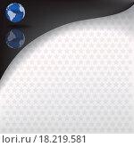 Купить «abstract background with blue globe», фото № 18219581, снято 16 июля 2019 г. (c) easy Fotostock / Фотобанк Лори