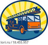 Купить «Fire truck or engine appliance», фото № 18455957, снято 20 сентября 2019 г. (c) easy Fotostock / Фотобанк Лори