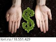 Купить «Rich soil for your income», фото № 18551429, снято 5 марта 2013 г. (c) Sergey Nivens / Фотобанк Лори