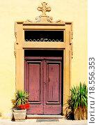 Купить «Italian Door», фото № 18556353, снято 20 февраля 2019 г. (c) easy Fotostock / Фотобанк Лори