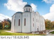 Борисоглебская церковь в Чернигове (XII в.) (2011 год). Стоковое фото, фотограф Николай Голицынский / Фотобанк Лори