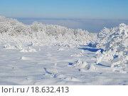 Зима в горах, пейзаж. Стоковое фото, фотограф Марина Остапенко / Фотобанк Лори