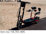 Купить «Modern electric bicycle», фото № 18761905, снято 7 июня 2020 г. (c) easy Fotostock / Фотобанк Лори