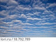 Кучевые облака. Стоковое фото, фотограф Бронислав Богачевский / Фотобанк Лори