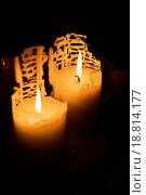 Купить «Candles», фото № 18814177, снято 11 декабря 2018 г. (c) easy Fotostock / Фотобанк Лори