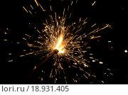 Бенгальские огонь. Стоковое фото, фотограф Калинина Наталья / Фотобанк Лори