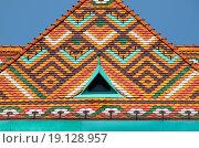 Купить «Multicoloured roof», фото № 19128957, снято 23 января 2020 г. (c) easy Fotostock / Фотобанк Лори
