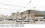 Купить «Павелецкий вокзал», эксклюзивное фото № 19243273, снято 18 апреля 2012 г. (c) Алёшина Оксана / Фотобанк Лори