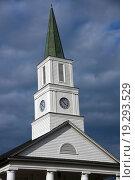 Church in Tallahassee. Стоковое фото, фотограф Zoonar/Henryk Sadura / easy Fotostock / Фотобанк Лори