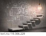 Купить «Great plan for success achieving», иллюстрация № 19306229 (c) Sergey Nivens / Фотобанк Лори