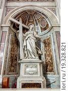 Купить «Shrine to Saint Helena in St. Peter's Basilica.», фото № 19328821, снято 10 октября 2013 г. (c) easy Fotostock / Фотобанк Лори