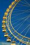 Виды Москвы. Колесо обозрения в парке, фото № 19333725, снято 20 февраля 2017 г. (c) Михаил Михин / Фотобанк Лори