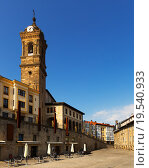 historic part of Vitoria-Gasteiz. Basque Country. Стоковое фото, фотограф Яков Филимонов / Фотобанк Лори