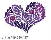 Купить «Сердце для любимой», иллюстрация № 19680437 (c) Tati@art / Фотобанк Лори