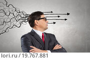 Купить «Strong decision making ability», фото № 19767881, снято 12 мая 2013 г. (c) Sergey Nivens / Фотобанк Лори
