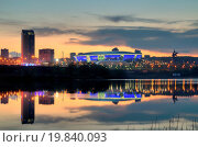 Купить «Night urban landscape», фото № 19840093, снято 20 января 2020 г. (c) easy Fotostock / Фотобанк Лори