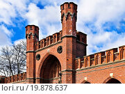 Купить «Rossgarten Gate - fort of Koenigsberg. Kaliningrad», фото № 19878637, снято 21 августа 2019 г. (c) easy Fotostock / Фотобанк Лори