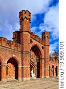 Купить «Rossgarten Gate - fort of Koenigsberg. Kaliningrad», фото № 19909101, снято 19 февраля 2019 г. (c) easy Fotostock / Фотобанк Лори