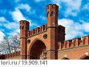 Купить «Rossgarten Gate - fort of Koenigsberg. Kaliningrad», фото № 19909141, снято 19 февраля 2019 г. (c) easy Fotostock / Фотобанк Лори