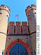 Купить «Friedrichsburg Gate. Kaliningrad (Koenigsberg)», фото № 19909269, снято 19 февраля 2019 г. (c) easy Fotostock / Фотобанк Лори