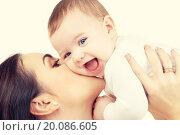 Купить «mother kissing her baby», фото № 20086605, снято 22 декабря 2007 г. (c) Syda Productions / Фотобанк Лори