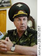 Купить «Генерал-лейтенант Григорий Фоменко», фото № 20167057, снято 12 сентября 2014 г. (c) Free Wind / Фотобанк Лори