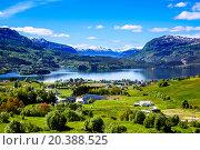 Купить «Beautiful Nature Norway.», фото № 20388525, снято 16 июня 2015 г. (c) Андрей Армягов / Фотобанк Лори