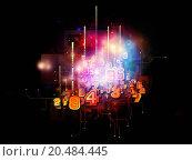 Купить «Arrangement of symbols, lights, fractal elements on the subject of digital communications, science and virtual cloud technology», фото № 20484445, снято 5 мая 2013 г. (c) easy Fotostock / Фотобанк Лори