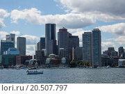 Купить «the skyline of boston», фото № 20507797, снято 16 октября 2019 г. (c) PantherMedia / Фотобанк Лори