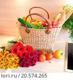 Купить «Fresh produce», фото № 20574265, снято 24 февраля 2018 г. (c) easy Fotostock / Фотобанк Лори