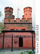 Купить «Friedrichsburg gate. Kaliningrad (Koenigsbeg), Rus», фото № 20583633, снято 19 февраля 2019 г. (c) easy Fotostock / Фотобанк Лори