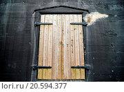 Купить «old fort or warehouse door», фото № 20594377, снято 20 февраля 2019 г. (c) easy Fotostock / Фотобанк Лори